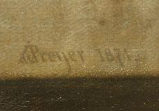 Detail images: Johann Wilhelm Preyer, 1803 Rheydt - 1889 Düsseldorf