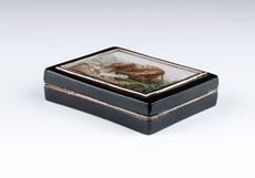 Detail images: Bedeutende Mikromosaik-Dose