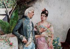 Detail images: Maler der spanischen Schule des 19. Jahrhunderts