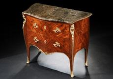 Detail images: Französische Louis XV-Kommode des 18. Jahrhunderts