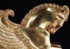 Detailabbildung: Empire-Tafelaufsatzvase in Form eines Füllhorns