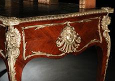 Detail images: Französisches Bureau-Plat im Louis XV-Stil
