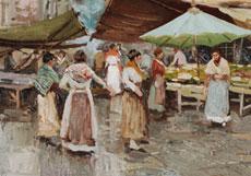 Detailabbildung: Oscar Riccardi, 1864 - 1935 Italien