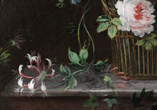 Detailabbildung: Elise Bruyère, zug. 1776 Paris - 1842