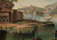 Detail images: Paolo Anesi, 1697 - 1773 Rom