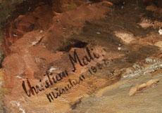 Detail images: Christian Friedrich Mali, 1832 Broekhuizen - 1906 München