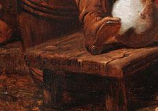 Detailabbildung: Frederick Goodall, 1822 London - 1904 ebenda, Mitglied der Royal Academy.