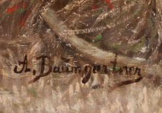 Detailabbildung: Adolf Baumgartner- Stoiloff, 1850 Linz - 1924 Wien