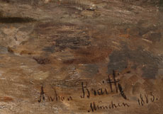 Detail images: Anton Braith, 1836 Biberach - 1905 ebenda