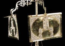 Detail images: Große Chanukka-Öllampe des 18. Jahrhunderts