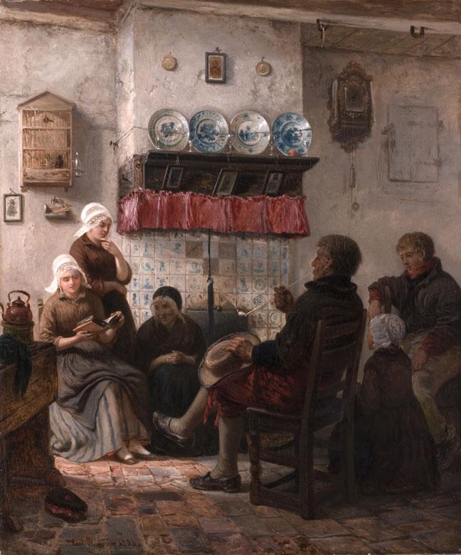 Carl Wilhelm Hübner, 1814 Königsberg - 1879 Düsseldorf