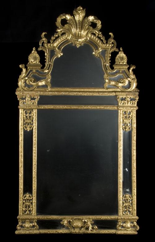 Régence-Wandspiegel