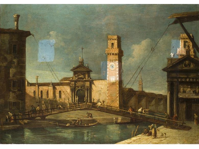 Francesco Albotto, 1722 Venedig - 1757, zug.
