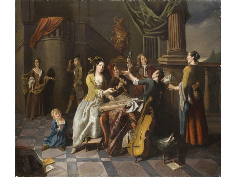 Pieter Angillis, 1685 Dünkirchen - 1734 Rennes, zug.