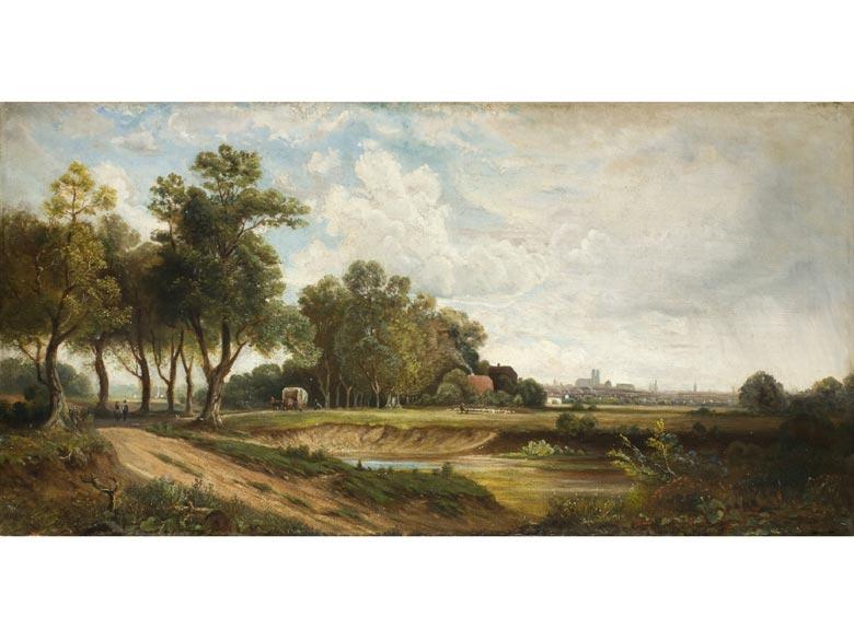 Eduard Schleich, 1812 Haarbach - 1874 München, Art des