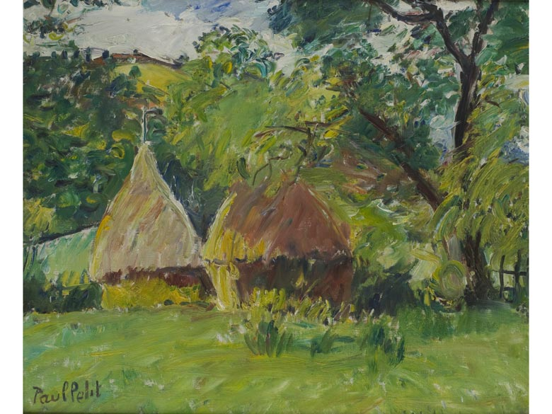 Paul Petit, 1885 - 1960, Neoimpressionistischer französischer Maler