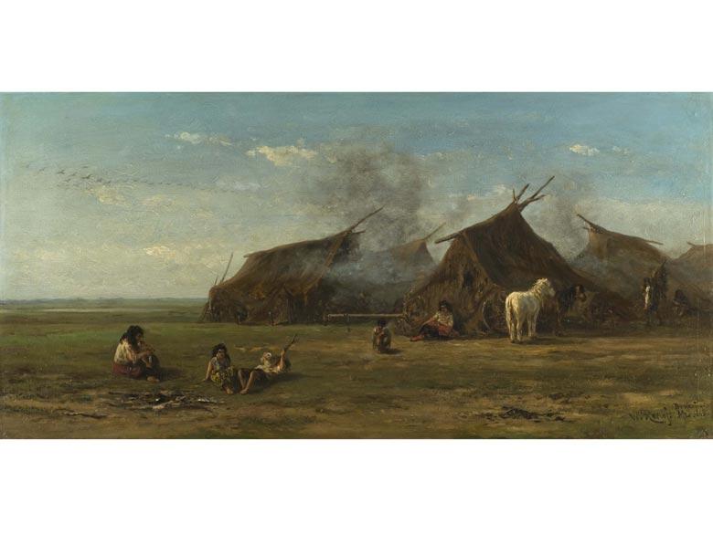 Willem Roelofs, 1822 - 1897