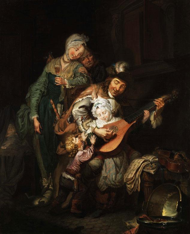 """Johann Eleazar Zeissig, genannt """"Schenau"""", 1737 Großschönau – 1806 Dresden,"""