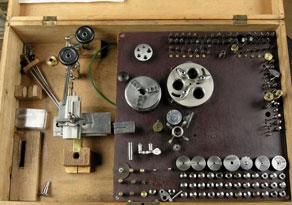 Detail images:  Uhrmacher-Drehbank
