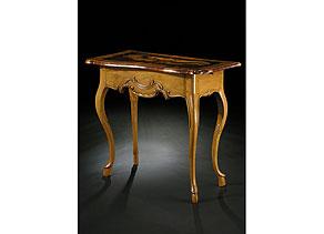 Detail images:  Kleiner Rokoko-Tisch