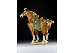 Detail images:  Glasiertes Pferd