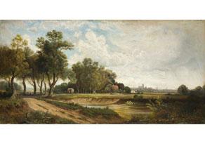 Detail images:  Eduard Schleich, 1812 Haarbach - 1874 München, Art des