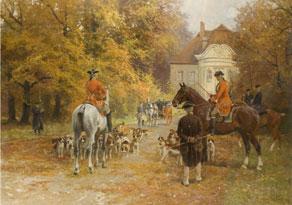 Georg Koch, 1857 Berlin - 1936, Der Maler studierte bei Steffeck, Meyerheim und Gussow an der Berliner Akademie. Er war auf zahlreichen Ausstellungen, unter anderem in Paris und Buenos Aires vertreten.