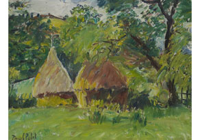 Detail images:  Paul Petit, 1885 - 1960, Neoimpressionistischer französischer Maler