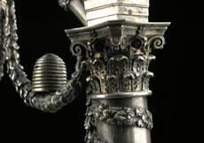 Detail images: Miniaturbogen des Meisters J. Hartig