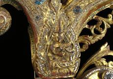 Detail images: Burmesischer Altar