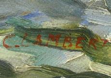 Detail images: Camille Nicolas Lambert, 1876 Arlon - 1963 Paris