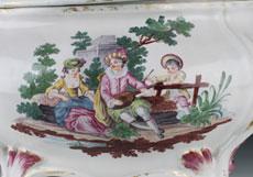 Detail images: Paar Terrinen mit den dazugehörigen Présentoires