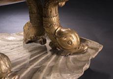 Detail images: Klassizistisches Kinderbett,