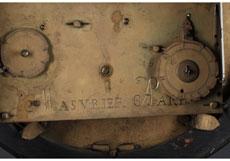 Detail images: Große französische Boulle-Pendule