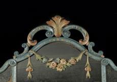 Detailabbildung: Wandkonsoltisch mit hohem Spiegel