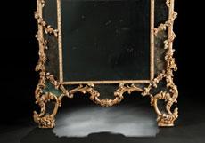 Detail images: Großer Rokoko-Wandspiegel