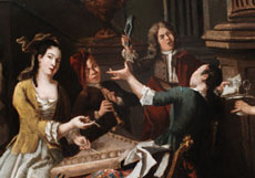 Detail images: Pieter Angillis, 1685 Dünkirchen - 1734 Rennes, zug.