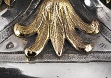Detail images: Großes, bedeutendes, päpstliches Repositorium in Silber und Vergoldung