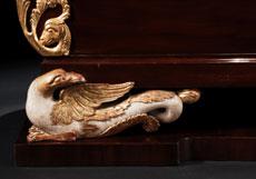 Detail images: Große, bedeutende Empirekommode