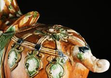 Detailabbildung: Glasiertes Pferd