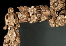 Detailabbildung: Barocker Wandspiegel