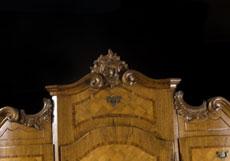 Detail images: Mainfränkischer Tabernakelsekretär