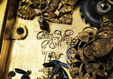 Detail images: Einzeigrige, waagerechte Tischuhr