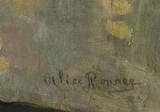 Detail images: Alice-Emma Ronner, 1857 Brüssel - 1906, Stilleben ihrer Hand in den Museen Antwerpen, Brüssel und Den Haag.