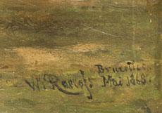 Detailabbildung: Willem Roelofs, 1822 - 1897
