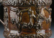 Detail images: Sächsischer Steinzeugkrug