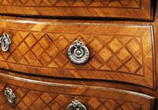 Detail images: Potsdamer Rokoko-Kommode