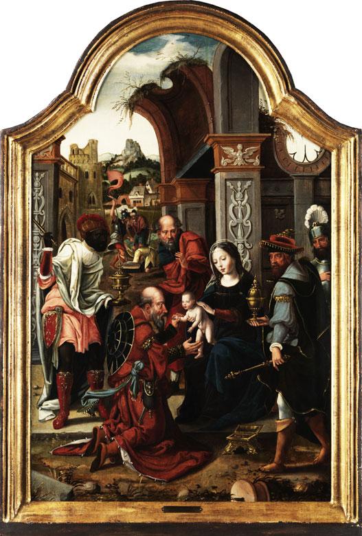 Jan Van Dornicke, Meister von 1518, zug.