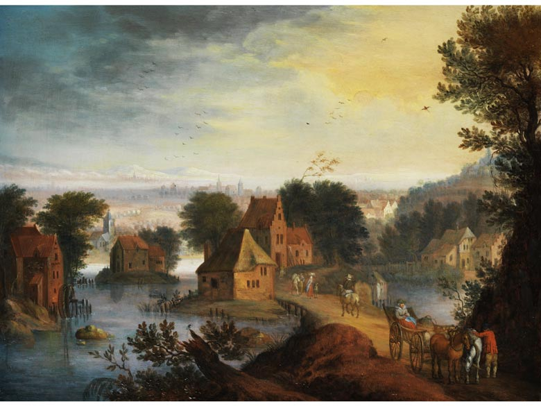Jan Brueghel der Jüngere, 1601 Antwerpen - 1678, zug.