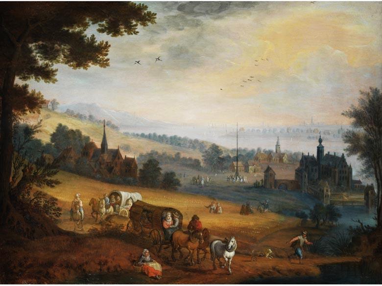 Jan Brueghel der Jüngere, Werkstatt, Flämische Schule des 17. Jahrhunderts